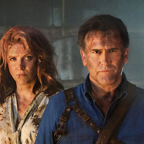 SDCC 2016: Ash vs Evil Dead interviews with Bruce Campbell, Lucy Lawless, Brock Williams, and Robert Tapert