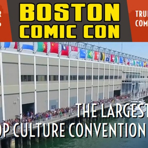 Boston Comic Con is coming next month