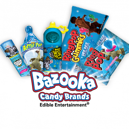Limited Edition Ice Age Bazooka Candy Brands