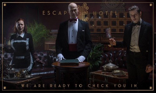 Nerd Reactor barely survives the new Escape Hotel in Hollywood