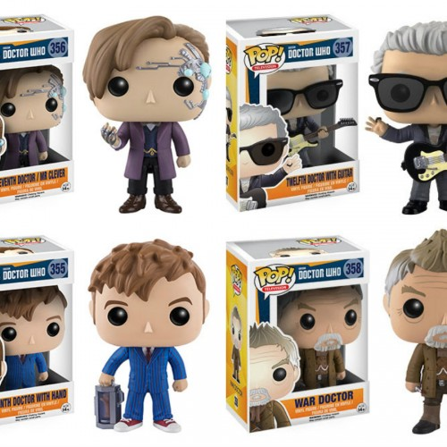 Funko to release new Doctor Who POP! figures