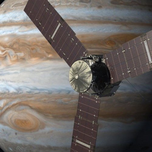 Juno approaches Jupiter's orbit