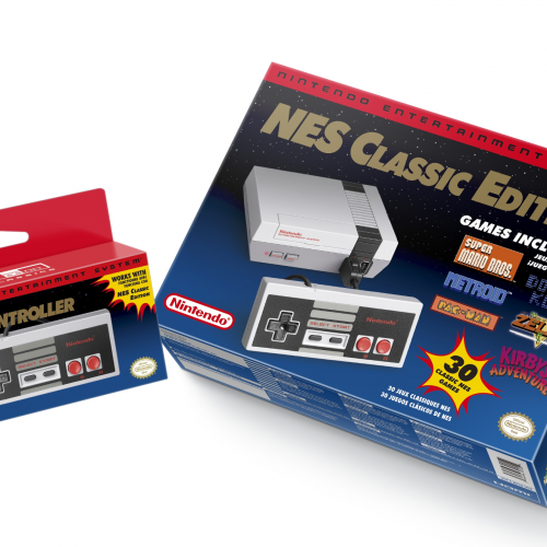 NES Classic Edition with 30 games coming in November