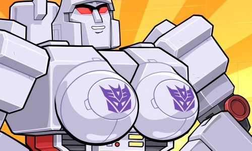 Megatron becomes a transgendered robot (video)