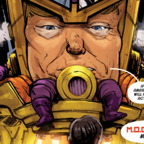 Trump-looking supervillain appears in Marvel comic book