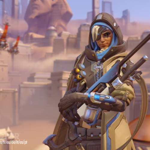 Blizzard introduces Ana to the Overwatch universe