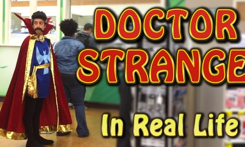 Doctor Strange in real life