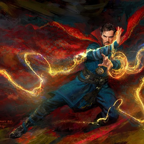 New look at Benedict Cumberbatch's 'Doctor Strange' with concept art