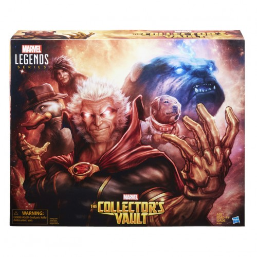 Hasbro reveals SDCC exclusive Marvel Legends The Collector's Vault