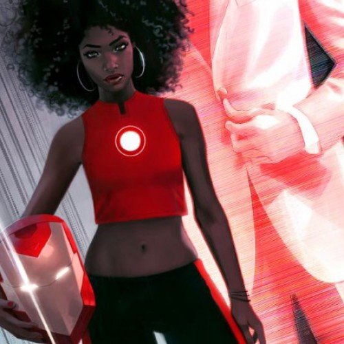 Marvel Comic's new Iron Man is a 15-year-old African-American girl