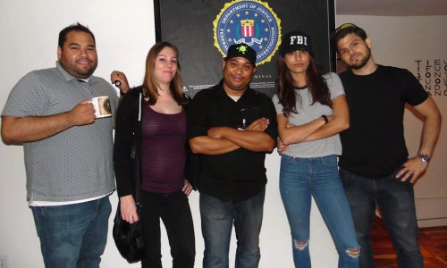 B4B Podcast with Jerry Ferrara & Nerd Reactor take on Maze Rooms' Castle escape game