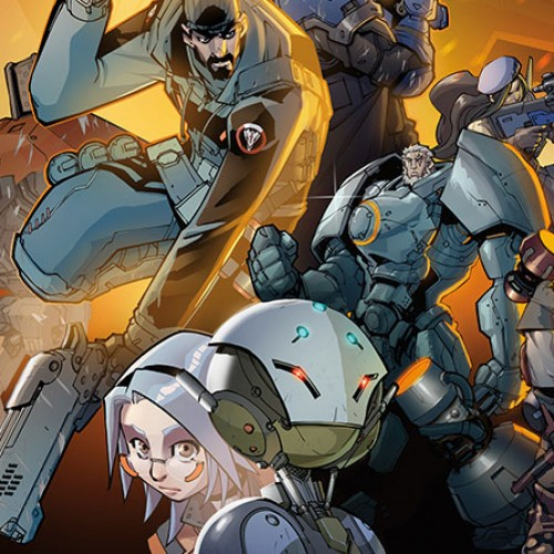 Overwatch graphic novel and artbook coming 2017