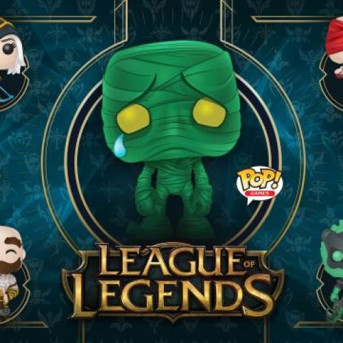 New League of Legends Pop Vinyls announced