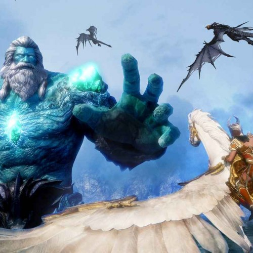 A brief first impression of Riders of Icarus