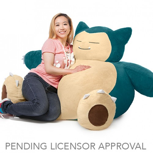Pokémon Snorlax Bean Bag Chair coming this December