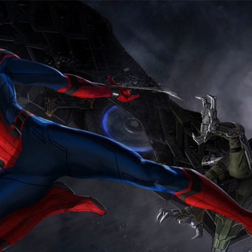 Is this the first Spider-Man: Homecoming movie poster?