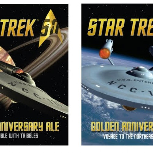 Star Trek & Shmaltz Brewing Company releases Star Trek 50th Anniversary limited edition beers