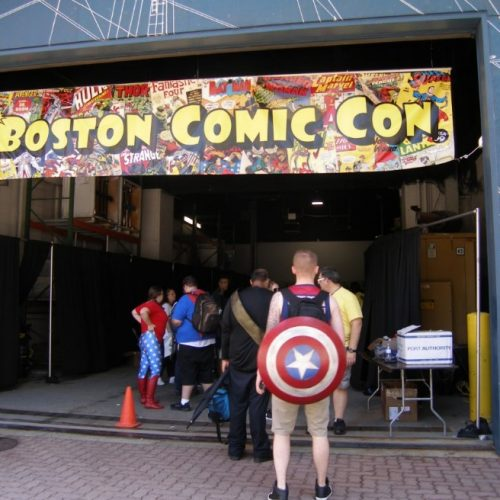 Recap of Boston Comic Con 2016