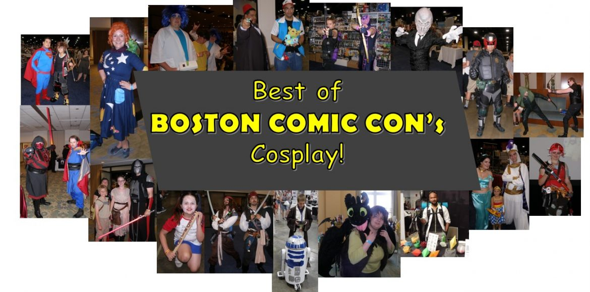 Boston Comic Con's cosplay photo gallery