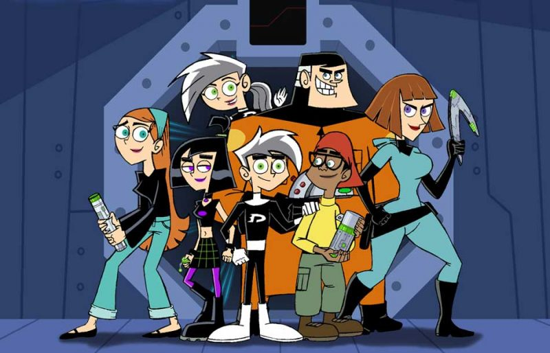 Cartoon Characters 30 Years Later : What danny phantom characters would look like years