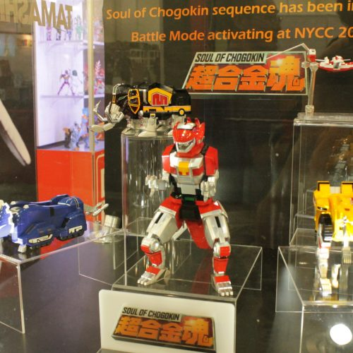 Bluefin Tamashii Nations reveals Soul of Chogokin Megazord at Power Morphicon