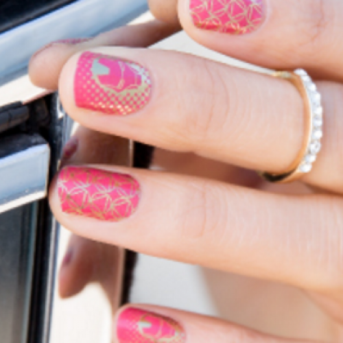 Show off your Marvel pride with Jamberry nail wraps