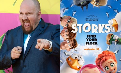 Storks voice actor Stephen Kramer Glickman on the film and being a nerd