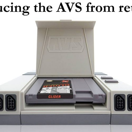 RetroUSB's NES console, The AVS
