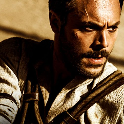 Jack Huston talks fulfilling Charlton Heston's big sandals on 'Ben-Hur'