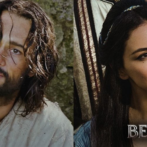 Rodrigo Santoro and Nazanin Boniadi talk the trials and fears of taking on 'Ben-Hur'