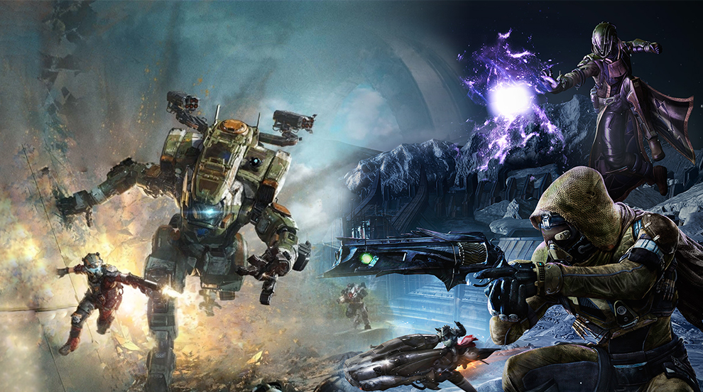 Destiny\u0027s Crucible vs Titanfall 2 multiplayer - Nerd Reactor