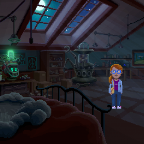 New Thimbleweed Park trailer explores the character of Delores Edmund