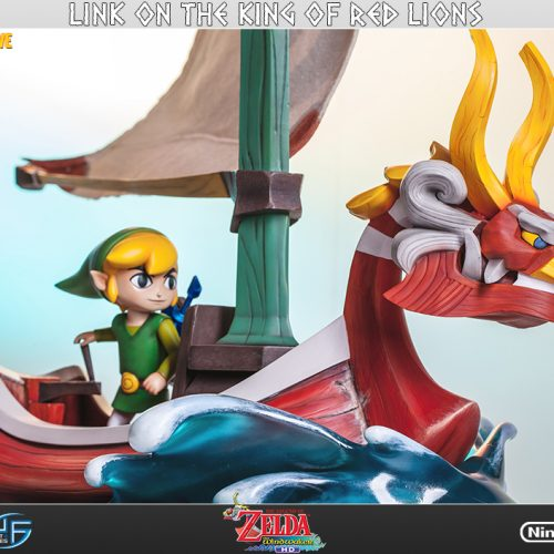 First 4 Figures reveals latest statue, Link on The King of the Red Lions