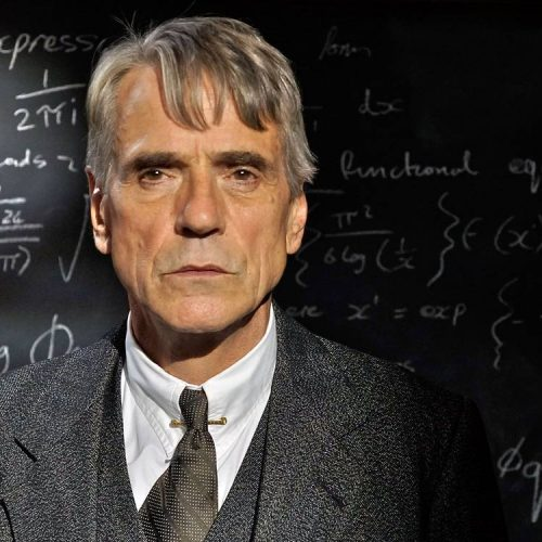 Jeremy Irons on playing a mathematician in The Man Who Knew Infinity