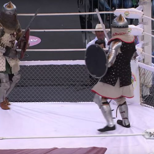 Russia has an MMA-style medieval fighting league