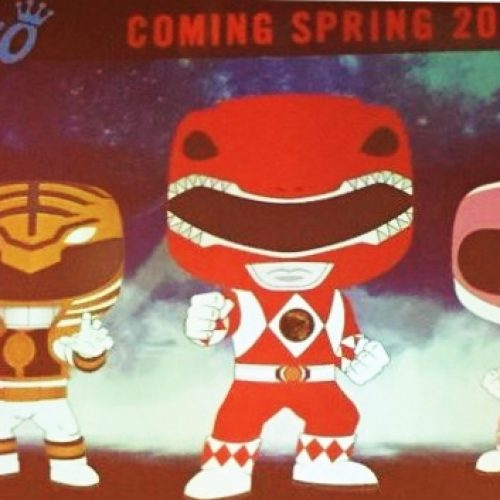 New Funko Pops coming next year for Red, White and Pink Ranger