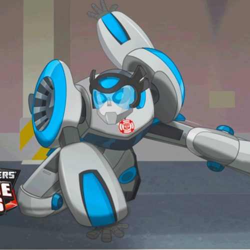 Transformers Rescue Bots Quickshadow winner!