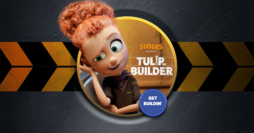Help Build The Ultimate Flying Machine With Storks Quot Tulip
