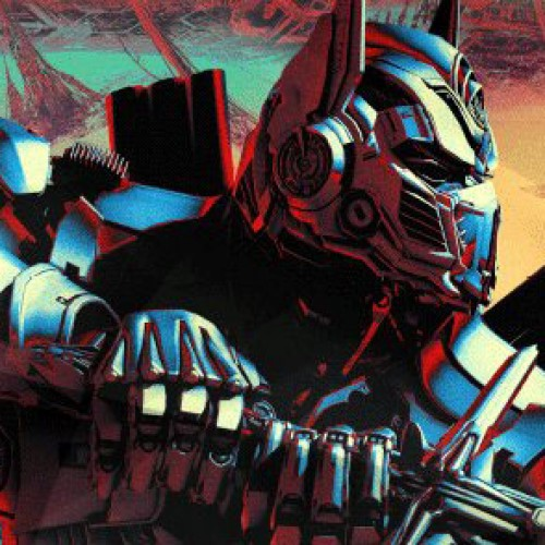 Optimus Prime battles dragons in Transformers: The Last Knight image