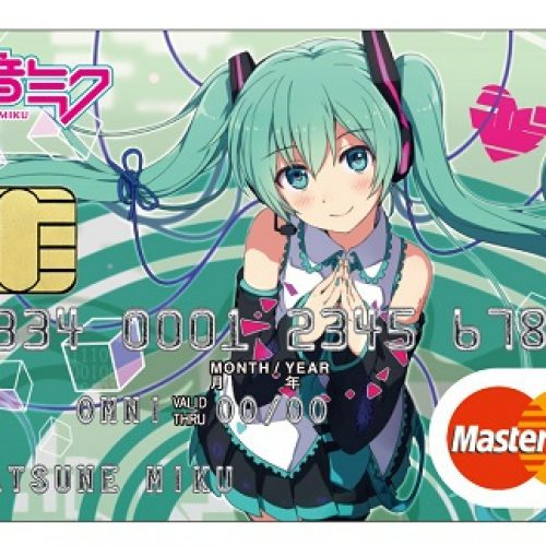 Japanese bank unveils Hatsune Miku credit card