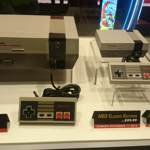 The NES Classic Edition looks tiny compared to original