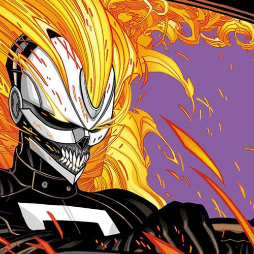 First look of Ghost Rider on Agents of SHIELD
