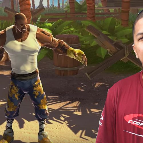 Shaquille O'Neal will take on a pro gamer in Street Fighter V at Twitchcon