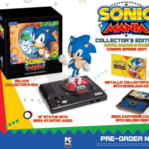 Sega brings all the '90s nostalgia back with the Sonic Mania Collector's Edition