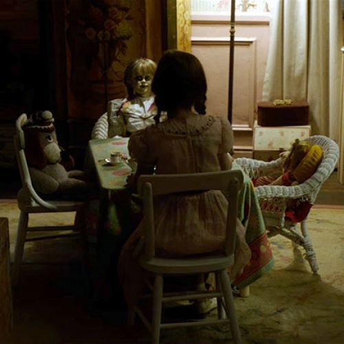The Annabelle doll returns in the announcement trailer for 'Annabelle 2'