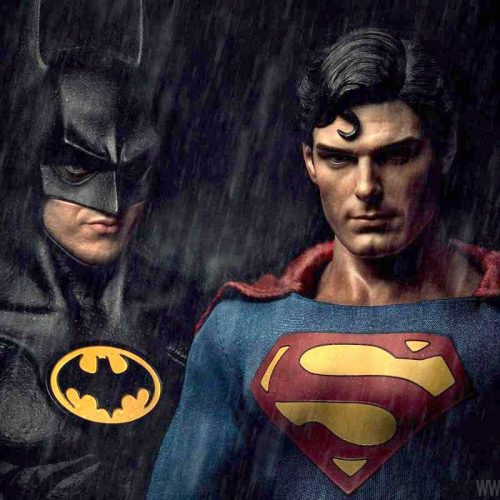 Batman v Superman retro trailer with Christopher Reeves, Michael Keaton, and Linda Carter