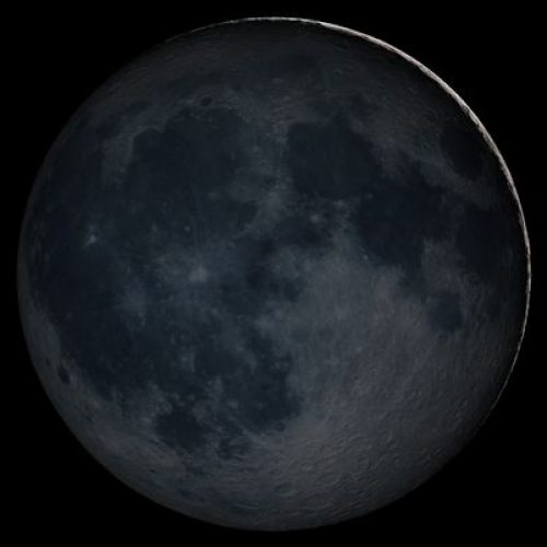 Rare black moon rises on Friday