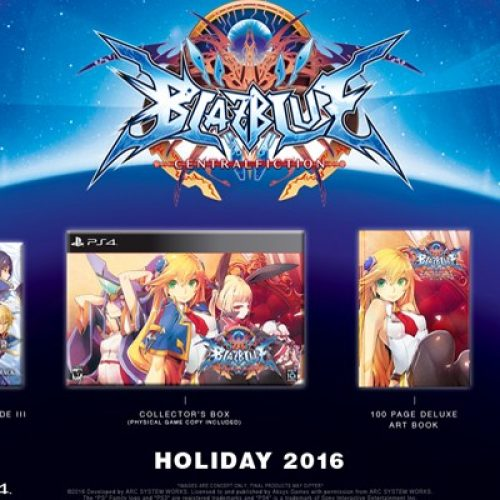 Two BlazBlue: Central Fiction Limited Edition bundles to be released