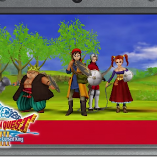 Nintendo 3DS' Dragon Quest VIII: Journey of the Cursed King coming 2017