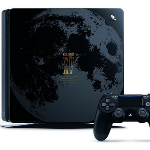 PlayStation 4 Slim gets the Final Fantasy XV treatment